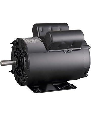 5hp spl 3450 rpm 60 hz air compressor electric motor 208-230 volts 56 frame