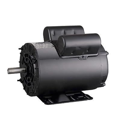 5 Hp Electric Motor >> 5hp Spl 3450 Rpm 60 Hz Air Compressor Electric Motor 208 230 Volts 56 Frame B385