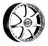 Motegi Racing FF7 Bright Silver Wheel With Clearcoat (17x7
