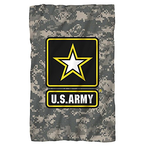 U.S. Army, Patch, Fleece Throw Blanket