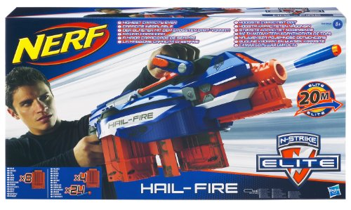 Nerf N-Strike Elite Hail-Fire Blaster(Discontinued by manufacturer) by NERF (Image #6)