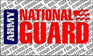 US Army National Guard Flag Military Banner United States Pennant New 3x5 Foot