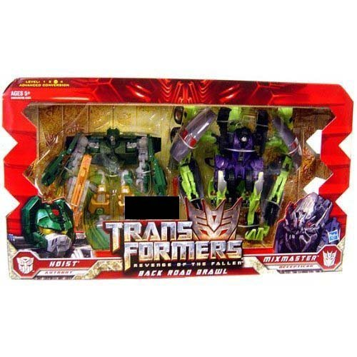 Transformers Revenge of the Fallen Back Road Brawl Hoist/