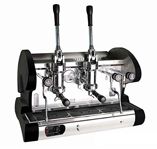 Commercial Pull Lever Espresso Machine (Black) ~ Manual ...