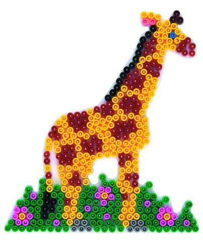 White Pegboard Hama 292 Midi Giraffe