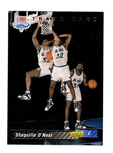 (1992-93 Upper Deck Shaquille O Neal #1B NM Near Mint RC Rookie )