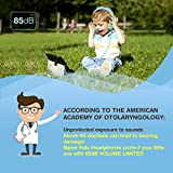 Mpow Kids Headphones with 85dB Volume Limited Hearing Protection & Music Sharing Function, Kids Friendly Safe Food Grade Material, Tangle-Free Cord, Wired On-Ear Headphones for Children Toddler Baby