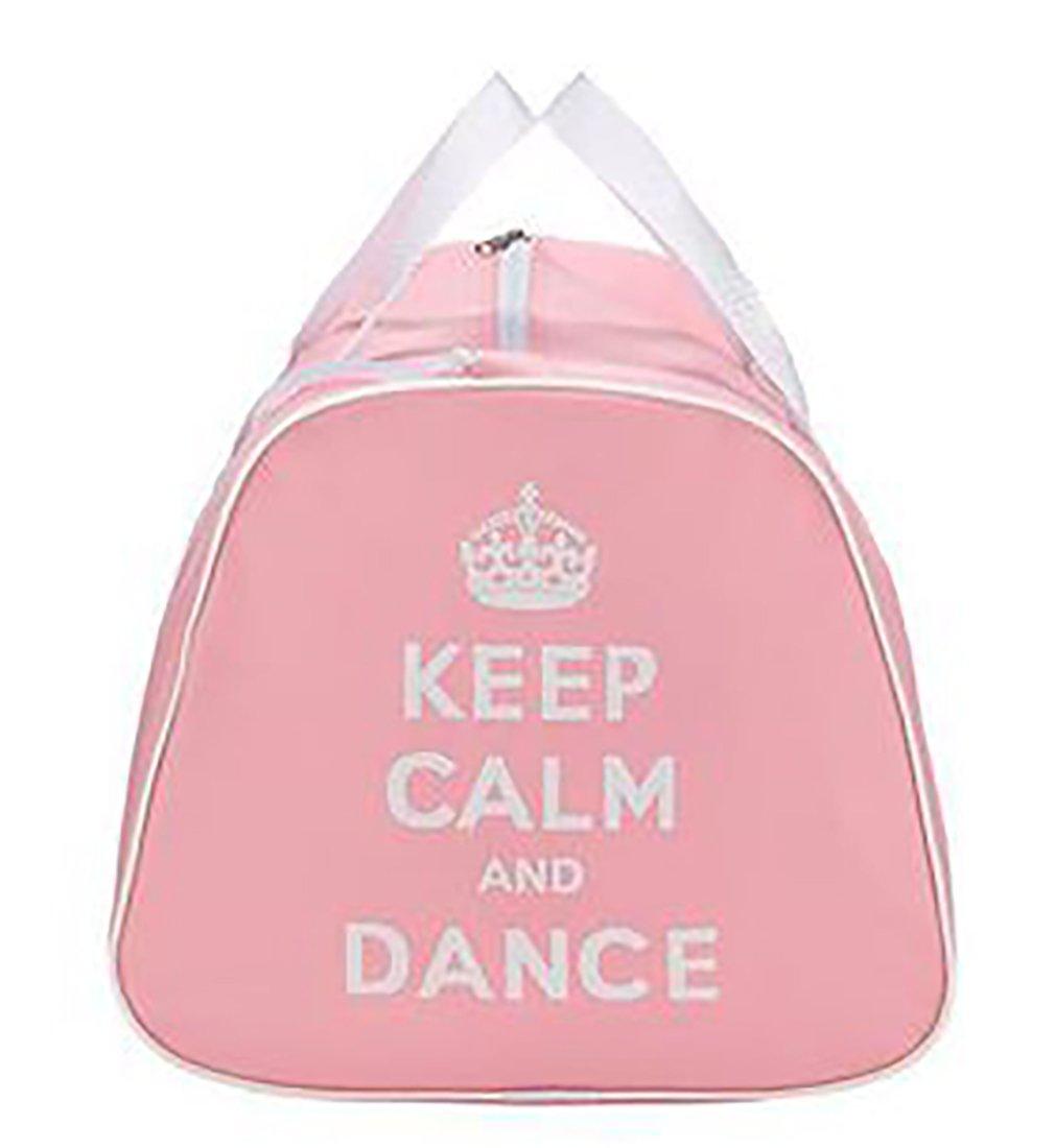 rose ou lilas Sac de danse personnalisable avec message /«Keep Calm And Dance/»