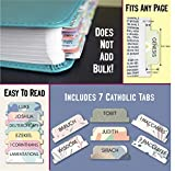 Bible Tabs for Women and Men, Bible Index Tabs for