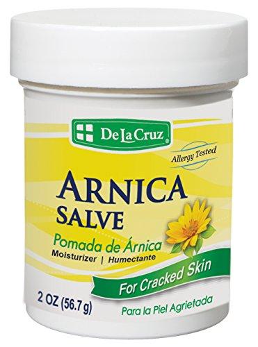 De La Cruz® Arnica Salve 2 OZ./Made in USA (Cream 2 Oz Salve)