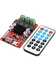 Hilitand 50 W + 50 W Portable TF Card Audio Receiver Amplifier Board Decoder with remote control DC 8 26 V