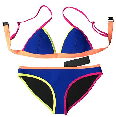 MUXILOVE Neoprene Binding Swimsuit Swimwear product image