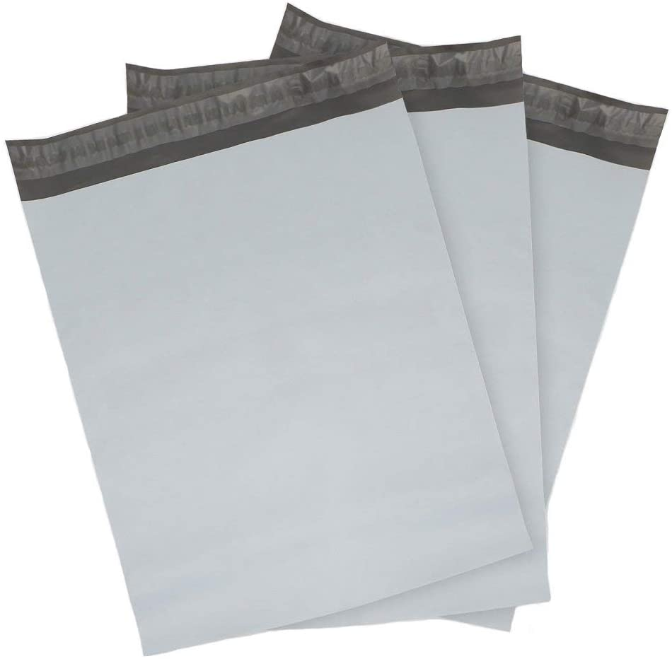 9527 Product Poly Mailers Envelopes Shipping Bags Self Sealing, 100 Bags, 10x13 inches, 2.5 Mil (White) : Office Products