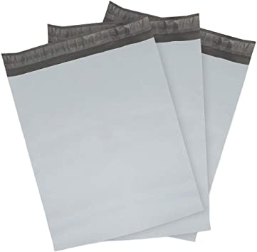 5 EcoSwift 12 x 15.5 White Poly Mailers Self Sealing Bulk Packaging Materials Shipping Supplies Envelopes Bags 12 inches by 15.5 inches