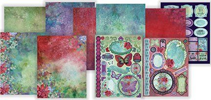Artful Card Kits by Hot Off The Press | Coordinated Collections for Scrapbooking, Card Making and Gifts - Inspiration at Your Finger Tips (Sunshine & Smiles) (Hot Off Press)