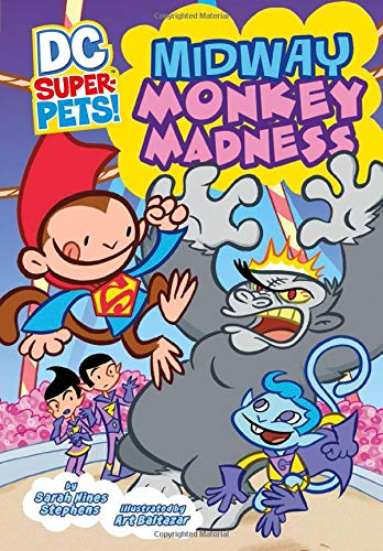 Super Pets Pet Store - Midway Monkey Madness (DC Super-Pets)