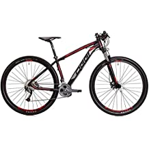 Bicicleta MTB OGGI BIG Wheel 7.2 29 2018 27V PRETO/VERMELHO