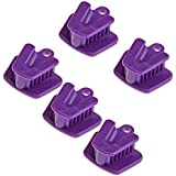 5pc Dental Mouth Prop Bite Block Cushion Opener Retractor Small size Purple