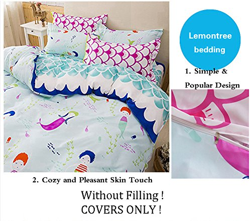 LemonTree Mermaid Bedding Set Duvet Cover Sets