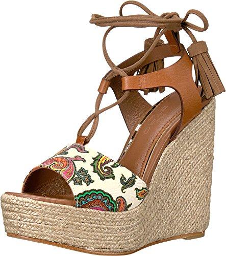 エトロWomens Paisley Wedge Sandal