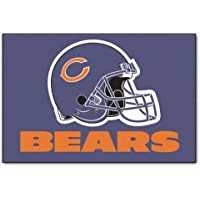 Fanmats NFL Chicago Bears Nylon Face Starter Rug