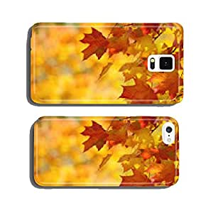 Colorful autumn maple leaves on a tree branch background cell phone cover case iPhone6 Plus