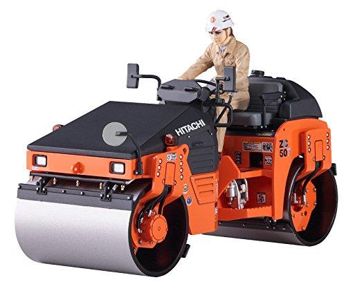 Hasegawa 66101 Hitachi Construction Machinery Tandem Vibratory Roller ZC50T-5 1/35