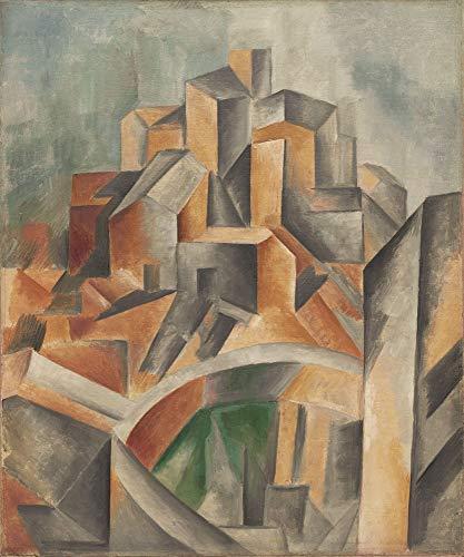 Pablo Picasso Giclee Art Paper Print Art Works Paintings Poster Reproduction(The Reservoir Horta De Ebro)