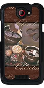 Funda para HTC one x - Amor Del Chocolate by Andrea Haase