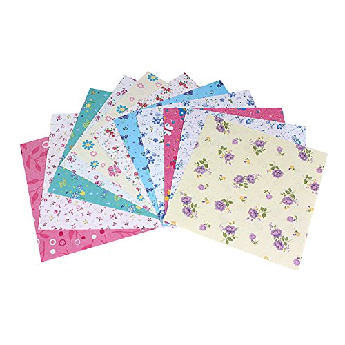 Liitrton 72 Sheets Square Printing Origami Paper Colourful Folding Paper - Shape Your Face To Frames Choose How For