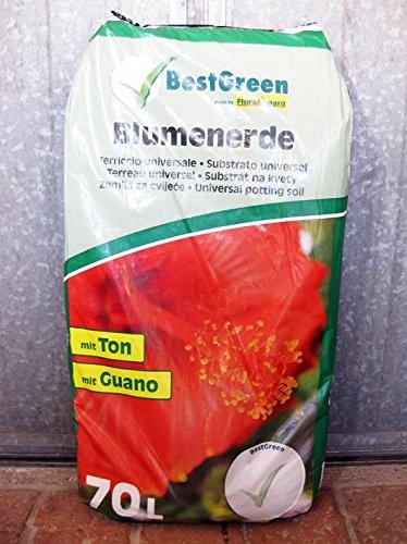 Turba, terriccio universal (Best Green-) Floragard (25 kg-) 70 L: Amazon.es: Jardín