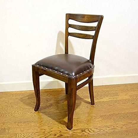 Amazon Babi Furniture チェア チーク無垢材 ダイニングチェア デスク