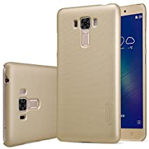 ASUS Zenfone 3 Laser(ZC551KL) Case,DISLAND High Quality Frosted Shield Hard Case Back Cover With Screen Protector - Retail Package,Golden