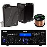 Best Kicker Sound Quality Speakers - Amp And Speaker Combo Packge: Pyle PDA6BU Bluetooth Review