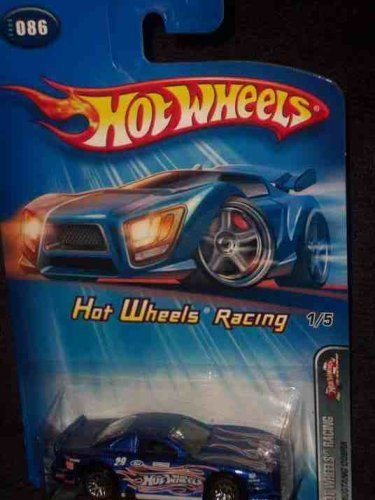 Hot Wheels Racing Series #1 Mustang Cobra Blue 1:64 Scale Collectible Die Cast Car Model #2005-86 (2005 Mustang Model Toy Cars)