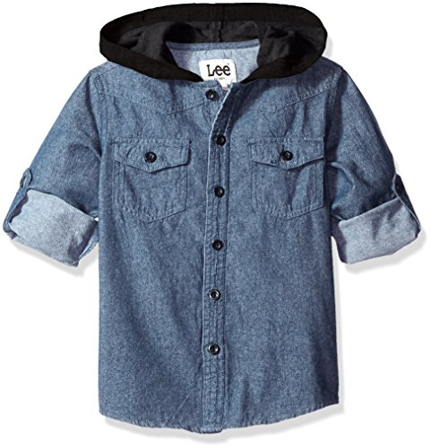lee-little-boys-french-terry-hooded-chambre-shirt-medium-blue-xl