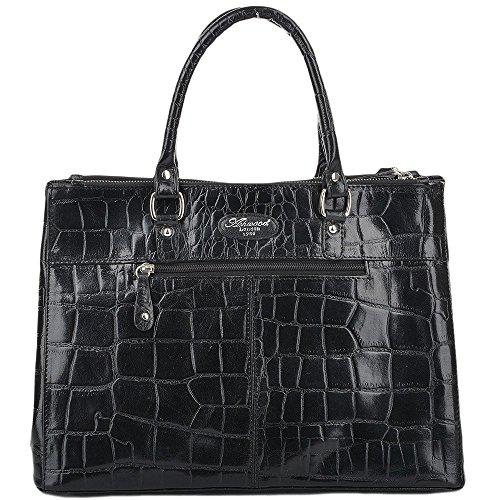 Ashwood Leather Bolso mochila para mujer negro negro