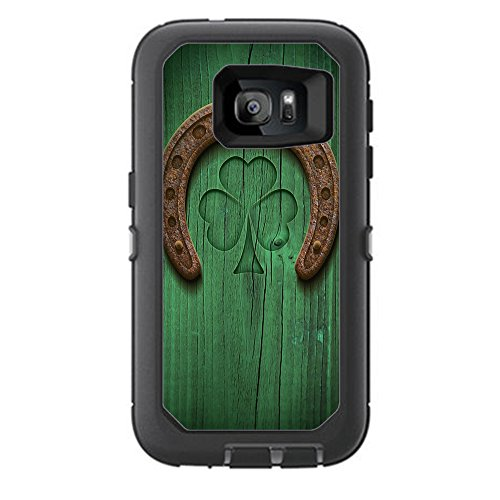 Skin Decal Vinyl Wrap for Otterbox Defender Samsung Galaxy S7 Case stickers skins cover/ Lucky Horseshoe, Irish