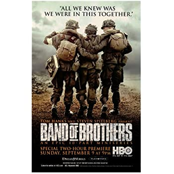 amazoncom band of brothers 27x40 movie poster prints
