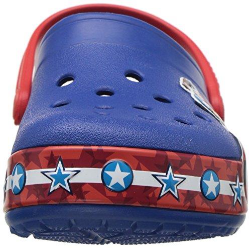 Pictures of Crocs Boys' CB FL Captain America CLG 205019 Blue Jean 6