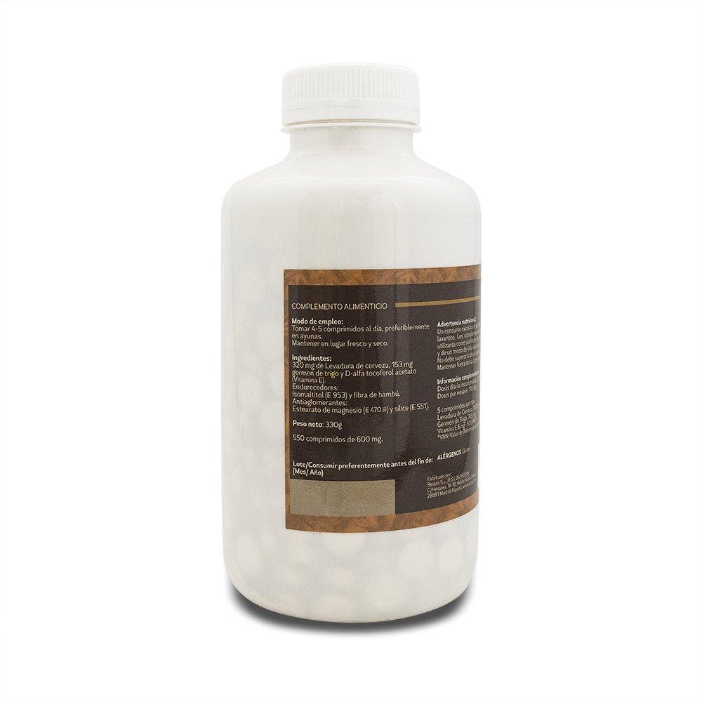 Sotya Levadura de Cerveza y Germen, Complemento Alimenticio, 550 Comprimidos, 600 mg: Amazon.es: Salud y cuidado personal