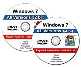 #7: Windows 7 All-in-One All Versions 32/64-Bit Repair, Reinstall, Restore Disc