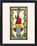 Framed Print of Tarot Card 12 - Le Pendu (The Hanged Man)