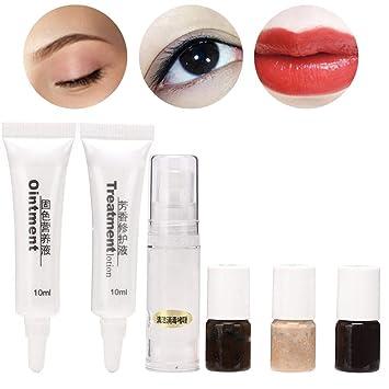 Maquillaje desechable Kit de tatuaje de labios para cejas ...