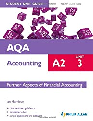 AQA A2 Accounting Student Unit Guide New Edition: Unit 3 Further Aspects of Financial Accounting (Aqa A2 Accounting Unit 3)