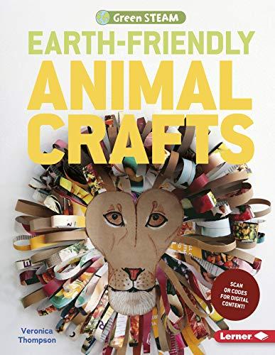 Earth-Friendly Animal Crafts (Green STEAM) (Dog Wall Feeder)
