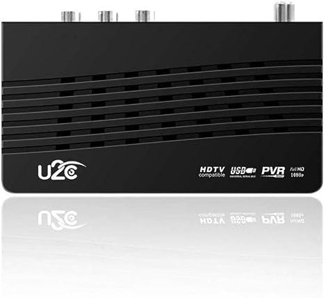U2C DVB-T Smart TV Box HDMI DVB-T2 T2 STB H.264 HD TV Receptor digital terrestre DVB T / T2 Decodificadores Televisión UHAPY: Amazon.es: Electrónica