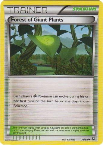 Pokemon - Forest of Giant Plants (74/98) - Ancient Origins