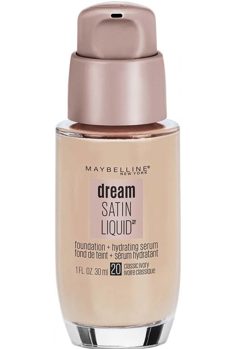Maybelline Dream Satin Liquid Foundation, Classic Ivory, 1 Ounce