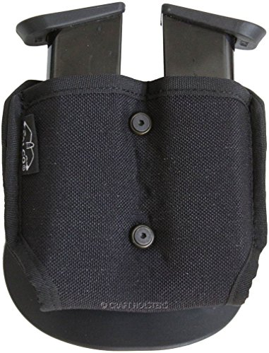 Walther PPK/S Double Nylon Magazine Pouch with Paddle